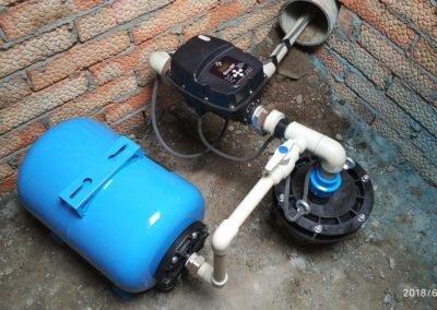 Монтаж и замена глубинных насосов в скважину в курске