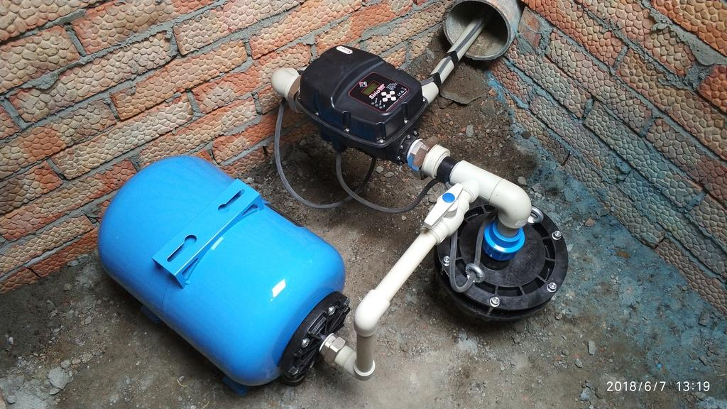 Установка глубинных насосов в скважину – монтаж установки для повышения давления воды в Курске и области