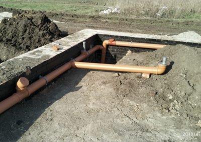 Подготовка канализации под заливку пола