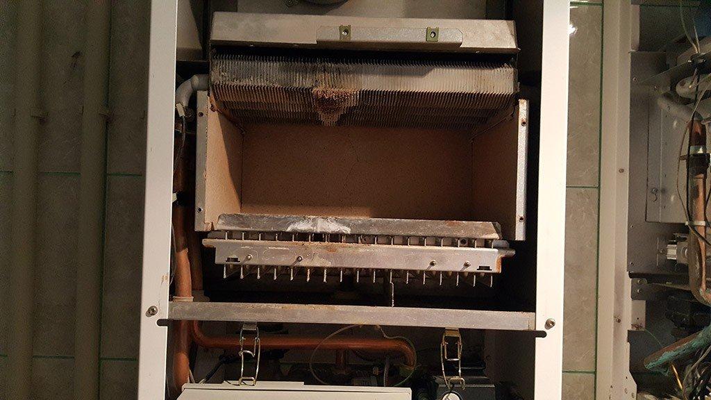 Очистка теплообменника газового котла в Курске и Области