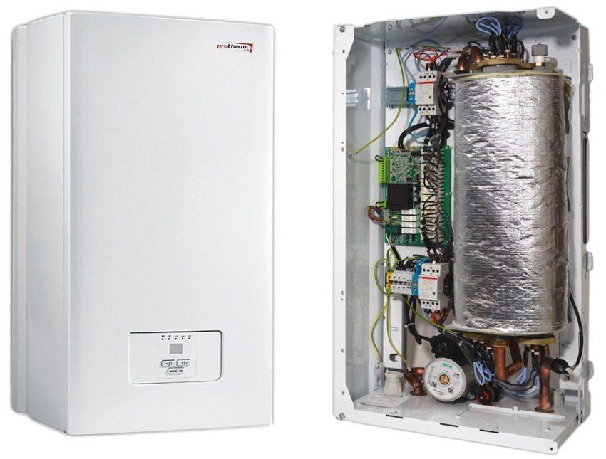 Установка электрических котлов отопления в Курске и области