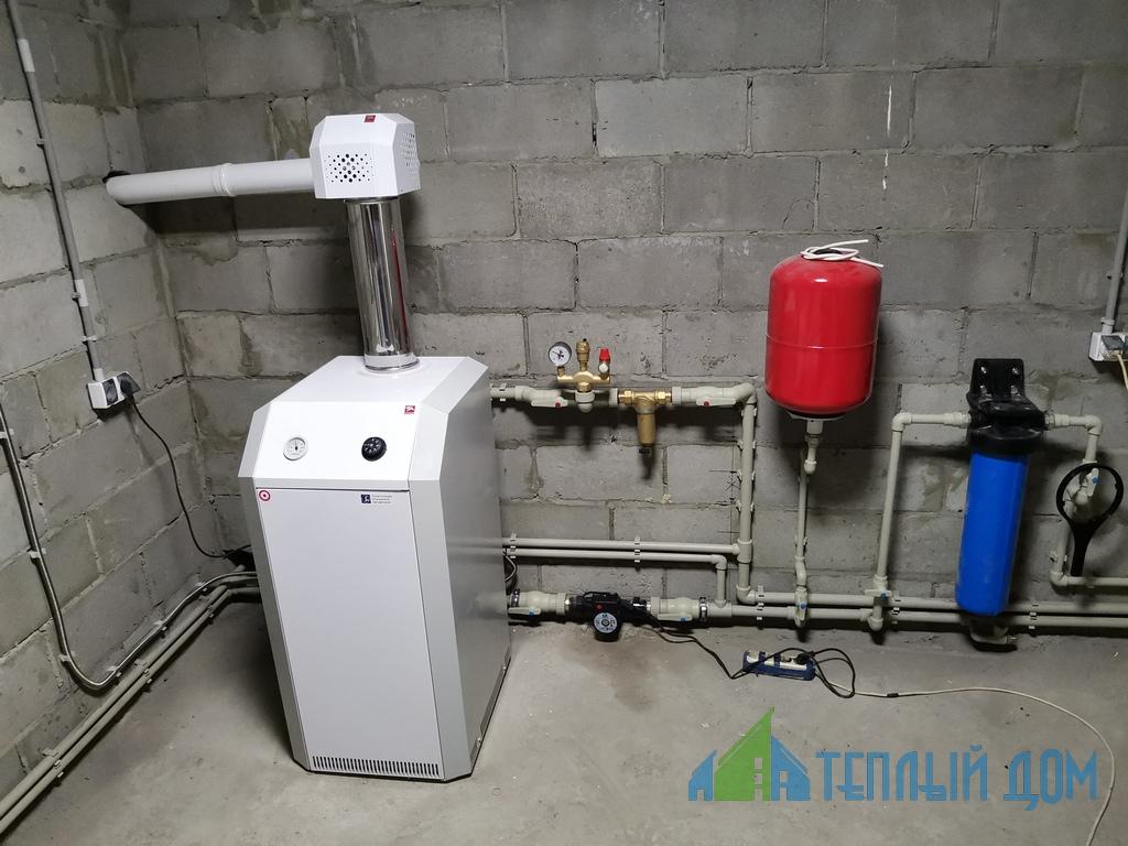 montazh gazovogo kotla 1 - Установка газовых котлов
