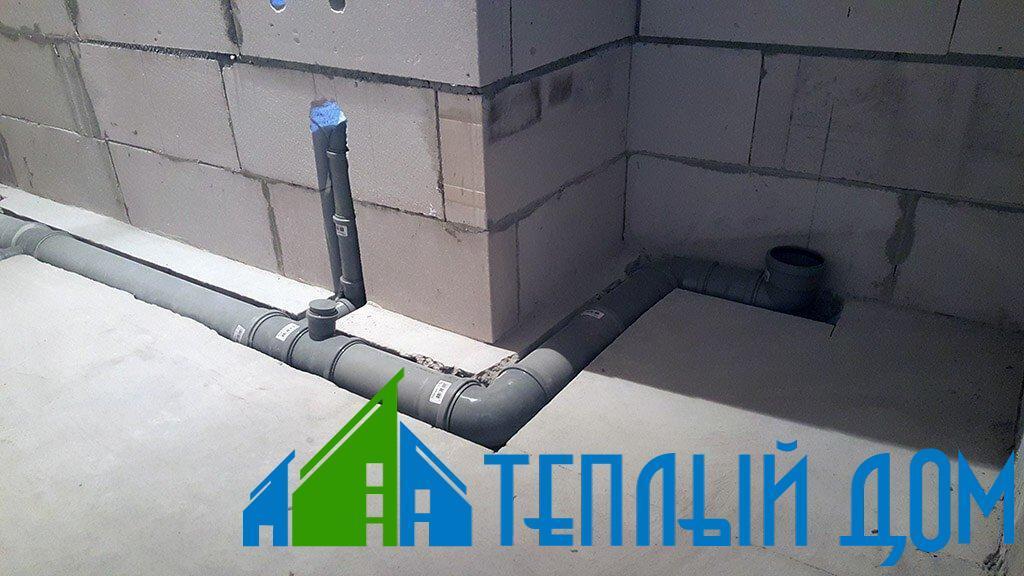 Монтаж систем канализации в Курске и области