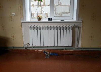 Монтаж радиатора 2