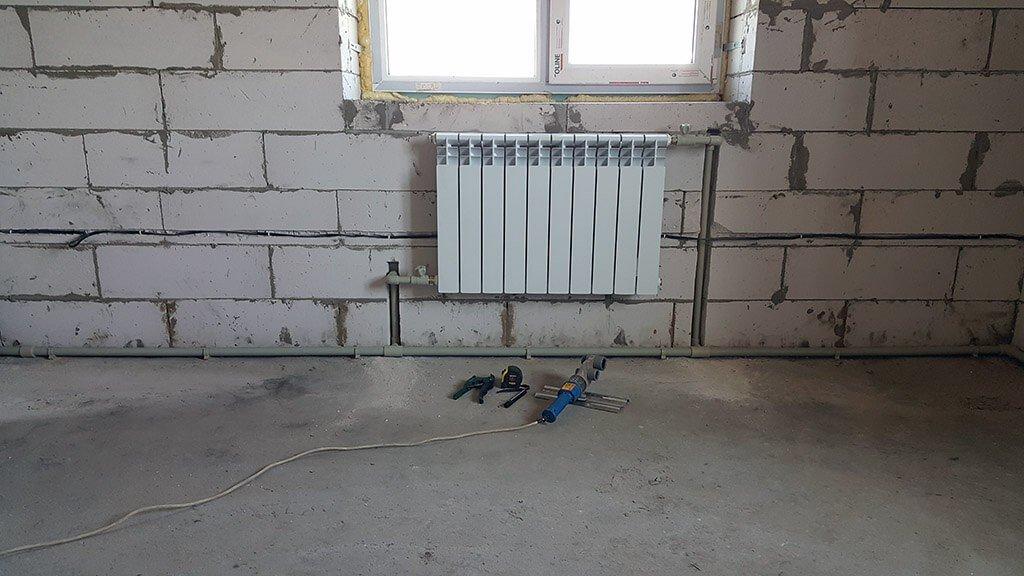 montazh radiatora 4 1 - монтаж радиаторов отопления
