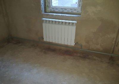 Монтаж радиатора отопления 2