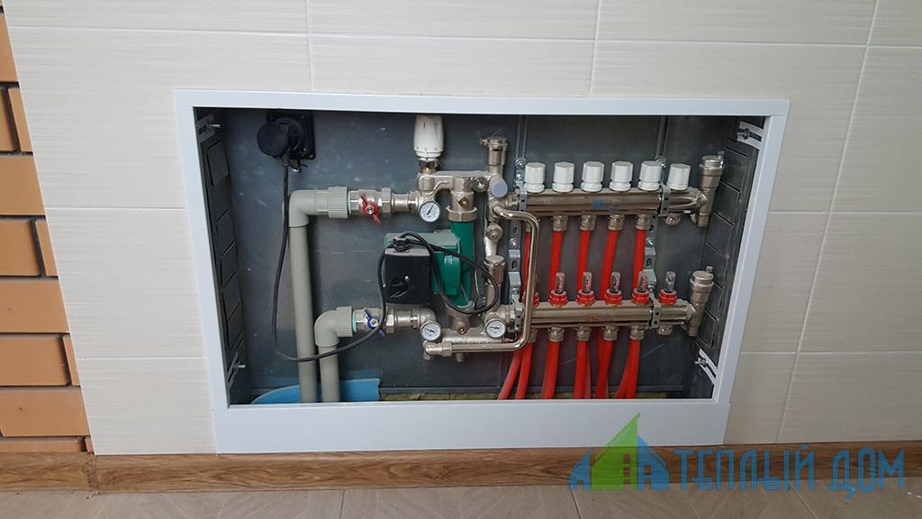 montazh sistem napolnogo otoplenija - Монтаж водяного теплого пола