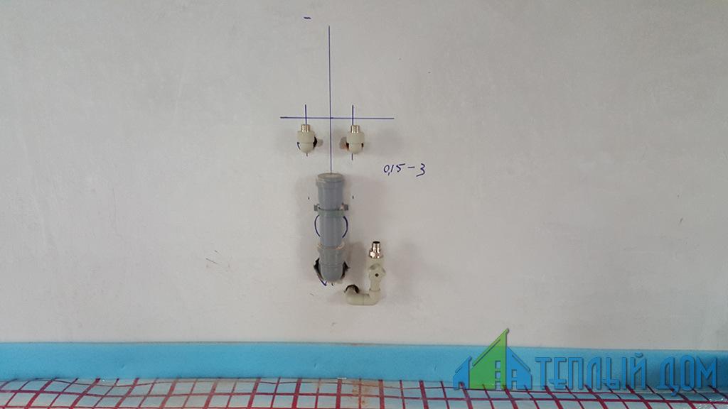 montazh sistem vodosnabzhenija - Монтаж водопровода