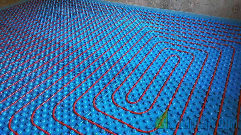 montazh teplogo vodjanogo pola v kursk i kurskoj oblasti - Монтаж водяного теплого пола
