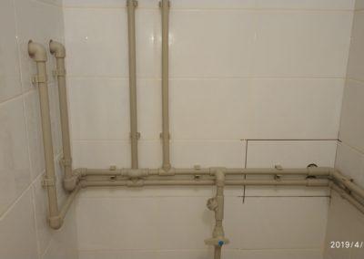 монтаж водопровод в доме
