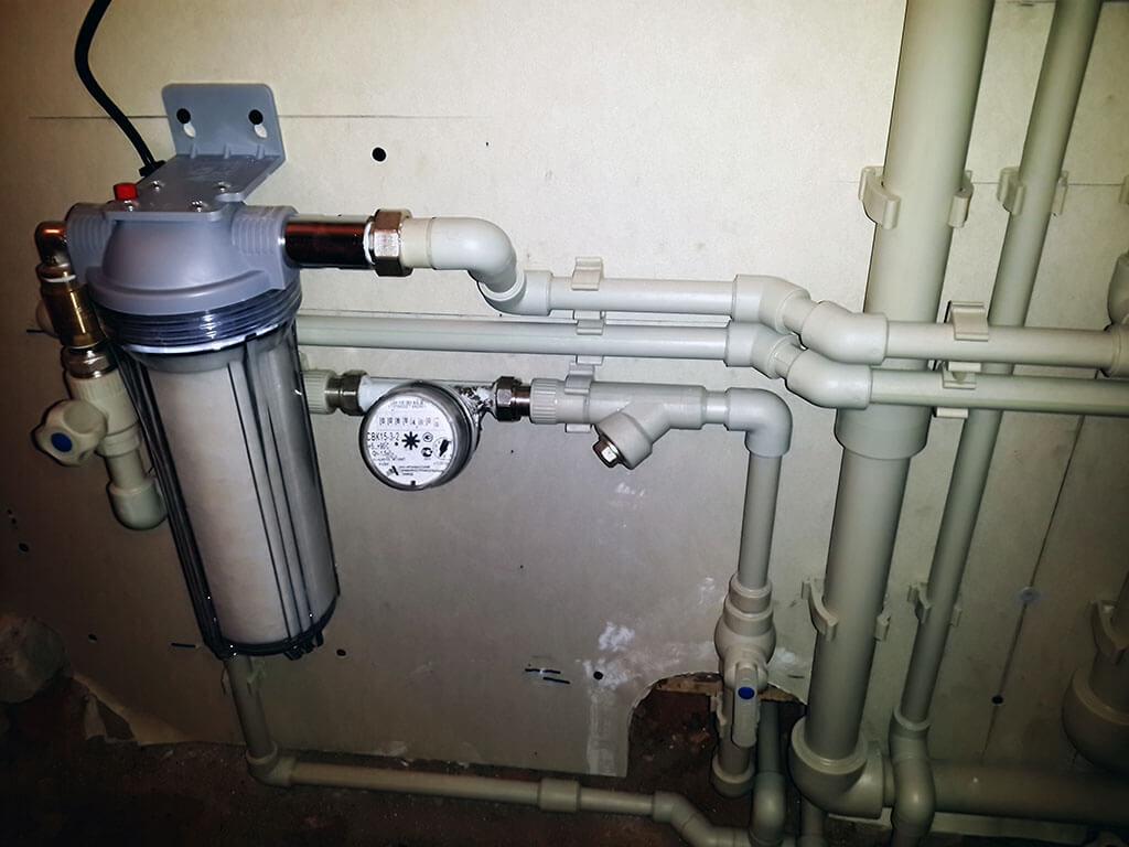 Монтаж системы водопровода в частном доме в Курске и области