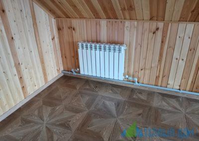 ustanovka batarej 2 400x284 - Примеры монтажа радиаторов – Портфолио наших работ