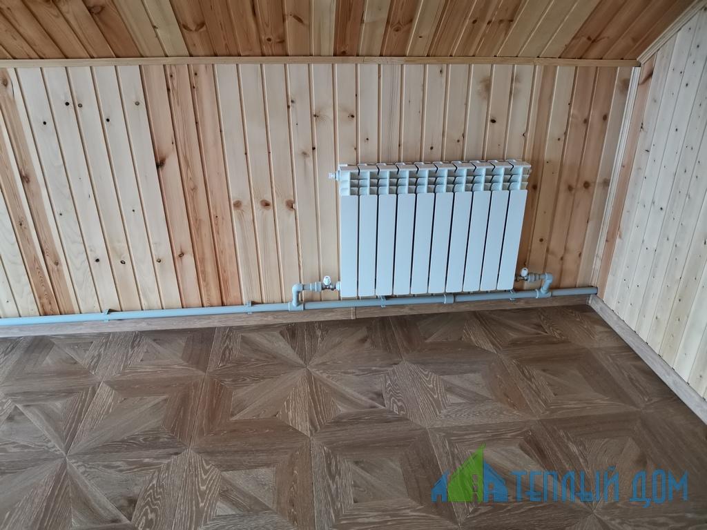 ustanovka batarej 3 - монтаж радиаторов отопления