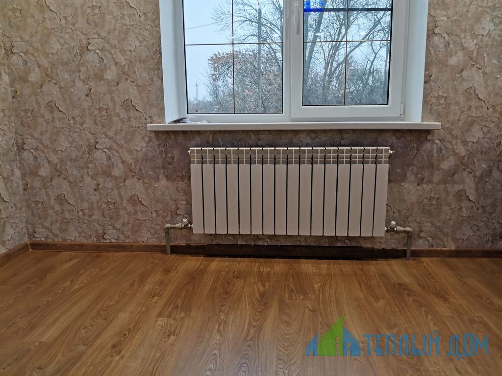ustanovka batarej - монтаж радиаторов отопления