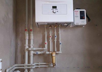 Примеры установки газовых котлов в Курске