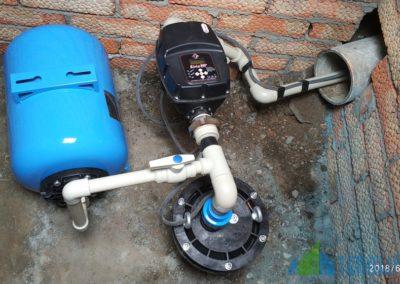 Установка водяных насосов в скважину