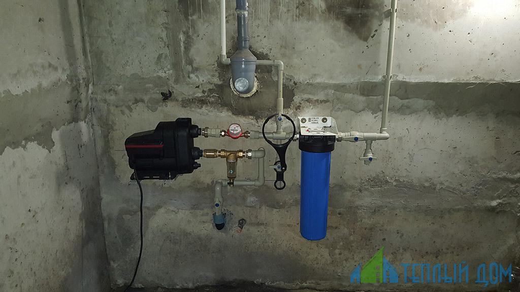 ustanovka vodjanyh nasosov - Установка водяных насосов в скважину